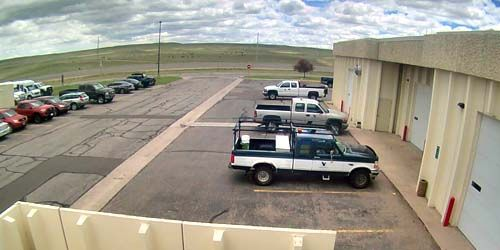 Garage of an energy company -  live webcam , Wyoming Cheyenne