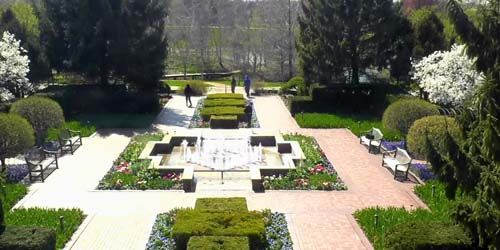Chicago Botanic Garden -  live webcam , Illinois Chicago