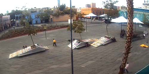 Garibaldi Square -  live webcam , Federal District Mexico City