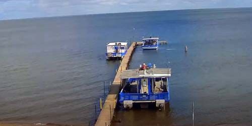 Mille Lacs Lake in Garrison -  live webcam , Minnesota Minneapolis