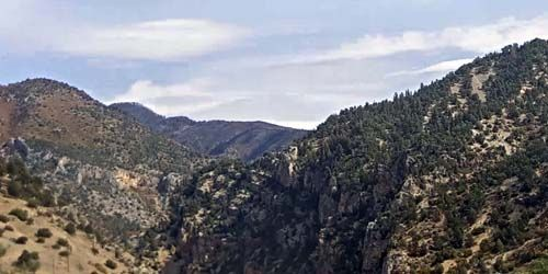Gorge in the mountains -  live webcam , Colorado Glenwood Springs