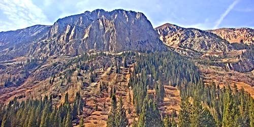 Gothic mountain -  live webcam , Colorado Glenwood Springs