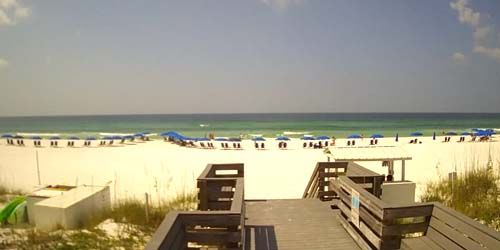 Destin Gulfgate Beach -  live webcam , Florida Destin