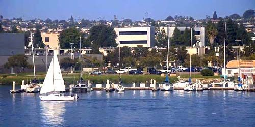 Barcos y yates en Harbour Island -  Webcam , California San Diego