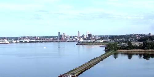 Providence Harbor City View -  live webcam , Rhode Island Providence