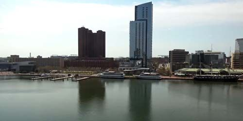 Inner Harbor, Patapsco River -  live webcam , Maryland Baltimore