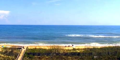 Playas en la isla de Hatteras -  Webcam , North Carolina Wilmington