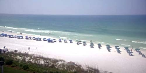 Gulf of Mexico from Henderson Park Inn -  live webcam , Florida Destin