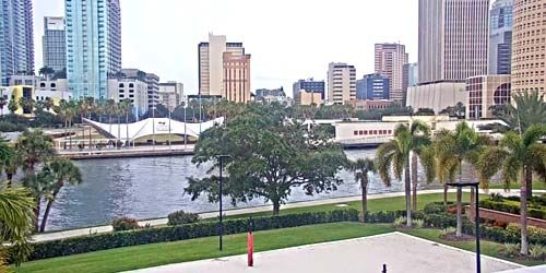 Hillsborough River, Curtis Hixon Waterfront Park -  live webcam , Florida Tampa