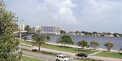 Hillsborough Bay -  live webcam , Florida Tampa