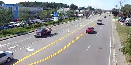 S Broadway, view of the HONDA showroom -  live webcam , New Hampshire Salem