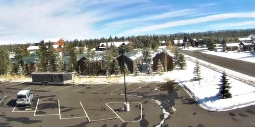 Hotel territories in Yellowstone National Park -  live webcam , Wyoming Jackson