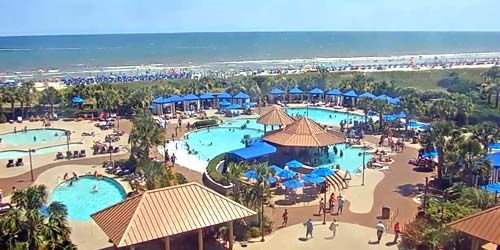 Hotel North Beach Resort & Villas Live -  Webcam , North Carolina Wilmington
