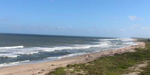Playa del Refugio Nacional de Vida Silvestre de Hobe Sound -  Webcam , Florida West Palm Beach