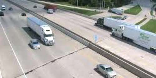 Bridge at the intersection of i-94 and 75 streets -  live webcam , Wisconsin Kenosha