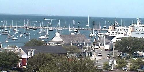 Panorama de la isla de Martha's Vineyard -  Webcam , Massachusetts New Bedford