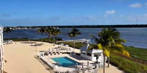 Panorama from Knights Key Island -  live webcam , Florida Marathon
