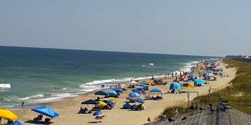 Kure Beach - playas de la costa atlántica -  Webcam , North Carolina Wilmington