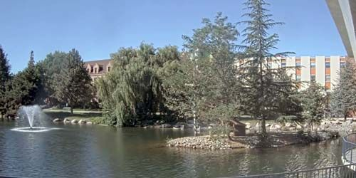Manzanita Lake at the University of Nevada -  live webcam , Nevada Reno