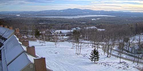 Valley with lakes -  live webcam , Vermont Burlington