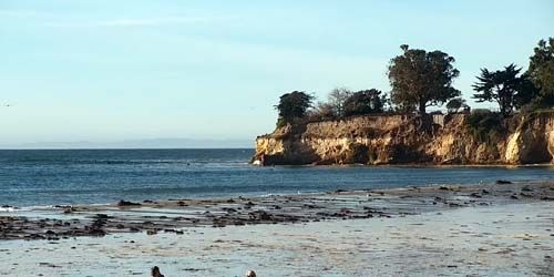 Leadbetter Beach -  live webcam , California Santa Barbara