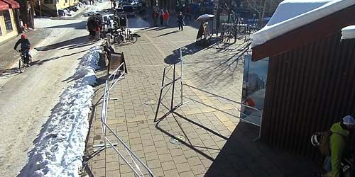 Lower lift station in town -  live webcam , Colorado Telluride