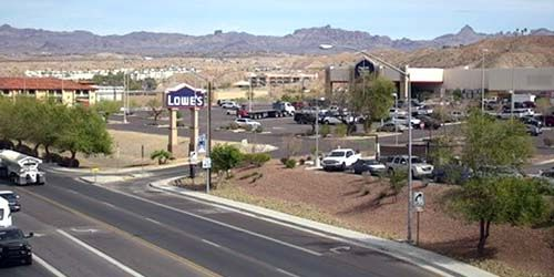 Construction du supermarché Lowe's ProServices -  Webсam , l'Arizona Bullhead City