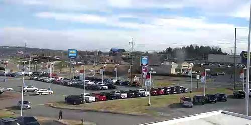 Estacionamiento del supermercado en Madison -  Webcam , Tennessee Nashville