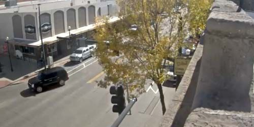 Calle principal sur -  Webcam , Wyoming Sheridan