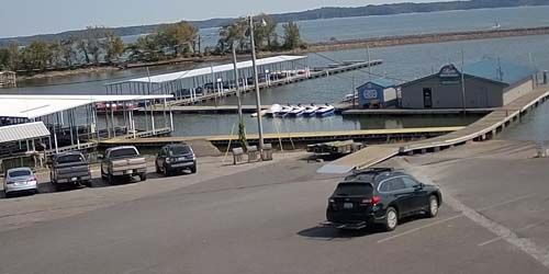 Moors Marina por el lago Kentucky -  Webcam , Kentucky Benton