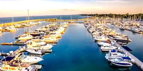 Southport  Marina -  live webcam , Wisconsin Kenosha