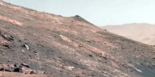 Surface of the planet Mars from the Perseverance rover -  live webcam , Texas Houston