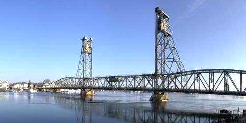 Memorial Bridge -  live webcam , New Hampshire Portsmouth