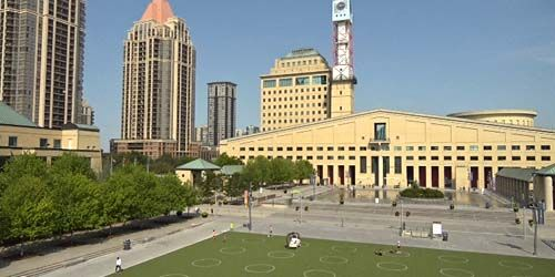 Mississauga Celebration Square -  live webcam , Ontario Toronto