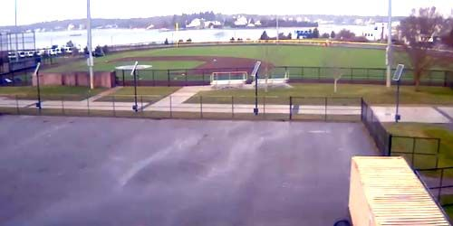 Hendy Field en la Academia Marítima de Massachusetts -  Webcam , Massachusetts New Bedford