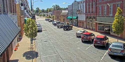 Tiendas y tráfico en Monroe St -  Webcam , Michigan Coldwater