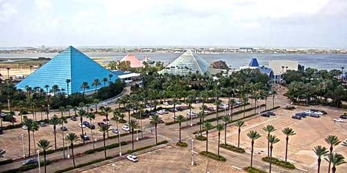 Moody Gardens Galveston au Texas -  Webсam , Texas Houston