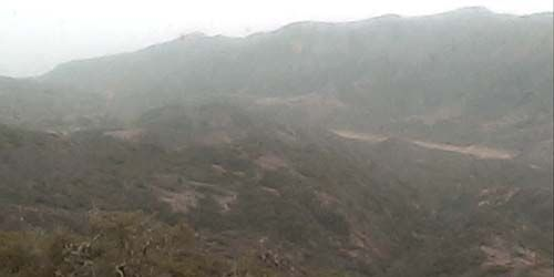 Mountains in the vicinity -  live webcam , California Santa Barbara