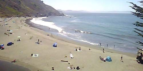 coast of Muir Beach -  live webcam , California San Francisco