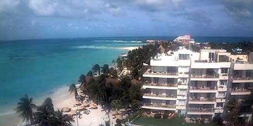 View from the hotel on the island of Mujeres -  live webcam , Quintana Roo Cancun