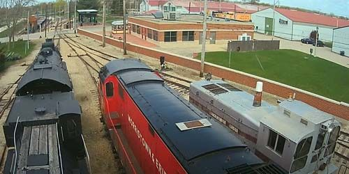 Illinois Railway Museum -  live webcam , Illinois Chicago