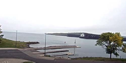 Two Harbors Lighthouse Museum -  live webcam , Minnesota Duluth