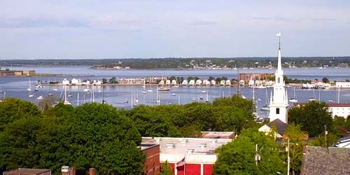 City panorama -  live webcam , Rhode Island Newport