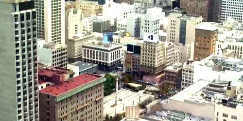 Panorama from above -  live webcam , California San Francisco