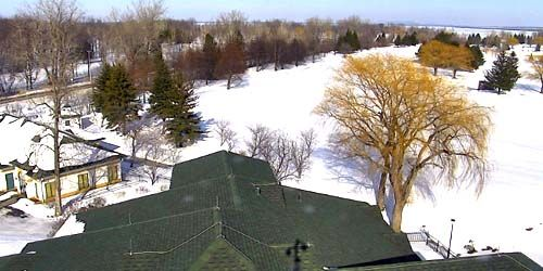 Panorama of the surroundings -  live webcam , Province of Quebec Trois Rivieres