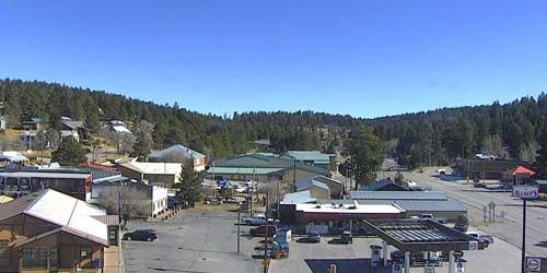 Panorama from above -  live webcam , New Mexico Cloudcroft