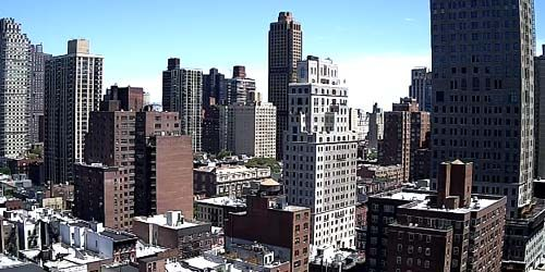 Panorama from above -  live webcam , New York New York