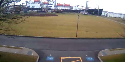 Plaza de armas en una escuela militar -  Webcam , Massachusetts New Bedford