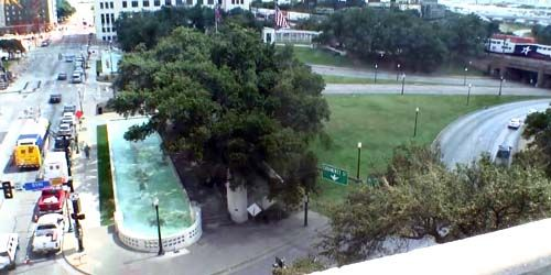 Dealey Plaza - Parque de la ciudad -  Webcam , Texas Dallas