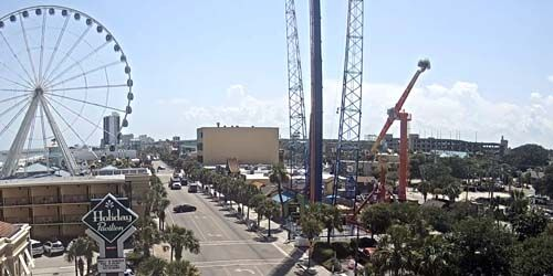 Family Kingdom Amusement Park -  live webcam , South Carolina Myrtle Beach